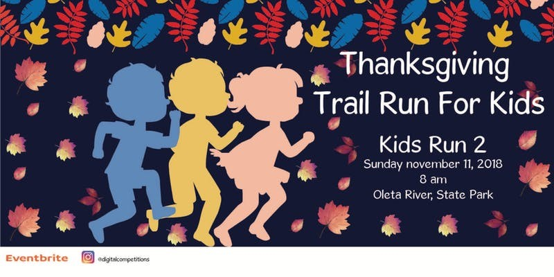 Thanksgiving Trail Run for Kids | Oleta River Park